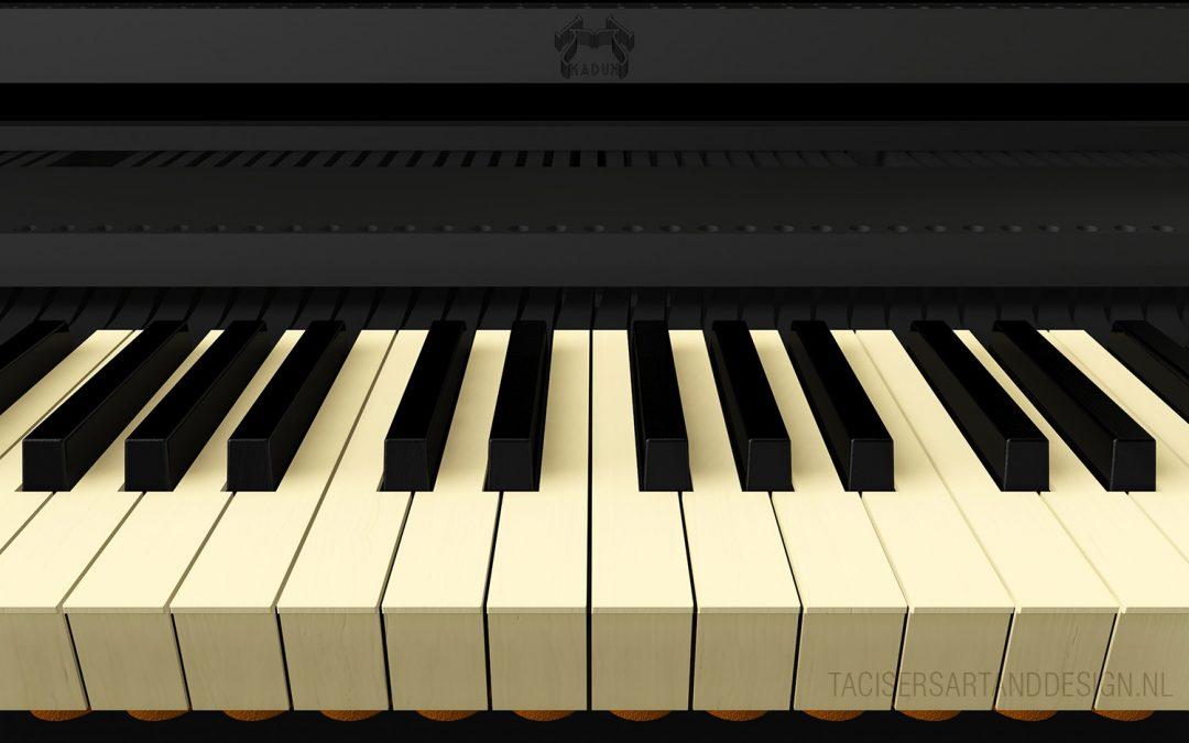 3D Impressions for Kaduk Modular Piano
